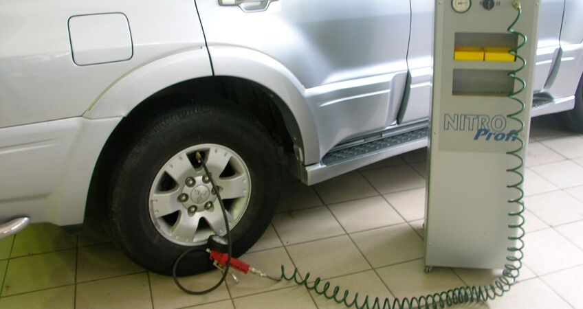 азот в шинах (главный ключ)