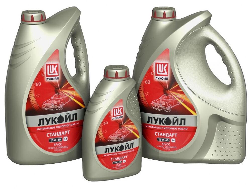 Купить Моторное масло ЛУКОЙЛ СТАНДАРТ 15W-40