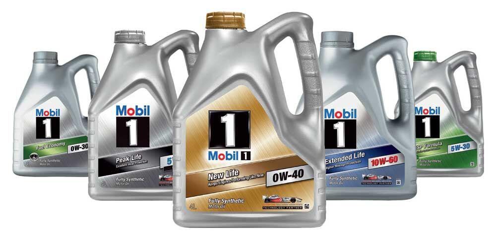 Виды масел Mobil 10w-40