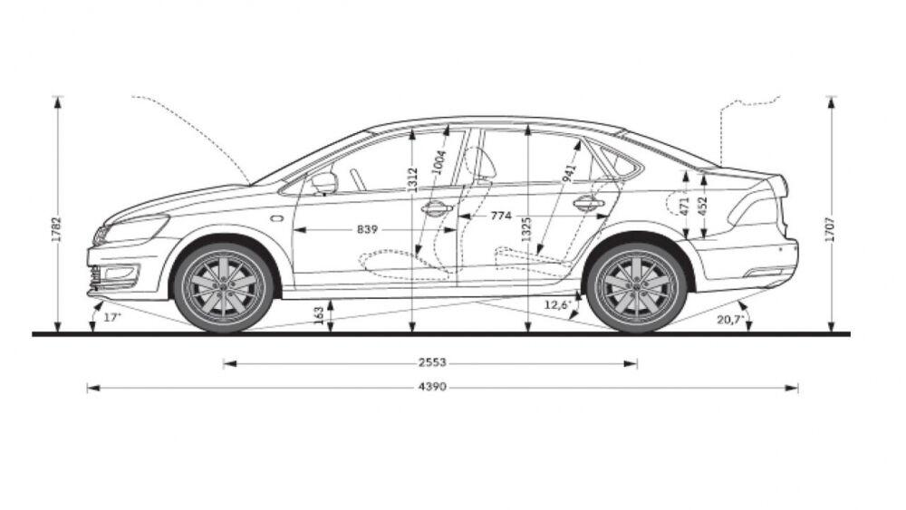 volkswagen polo технические характеристики