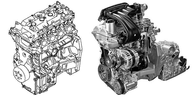HR16DE - двигатель Ниссан 1.6 литра | Otoba.ru