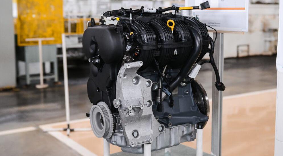 Двигатель 1,8л 122 л.с. (21179) | Лада Веста
