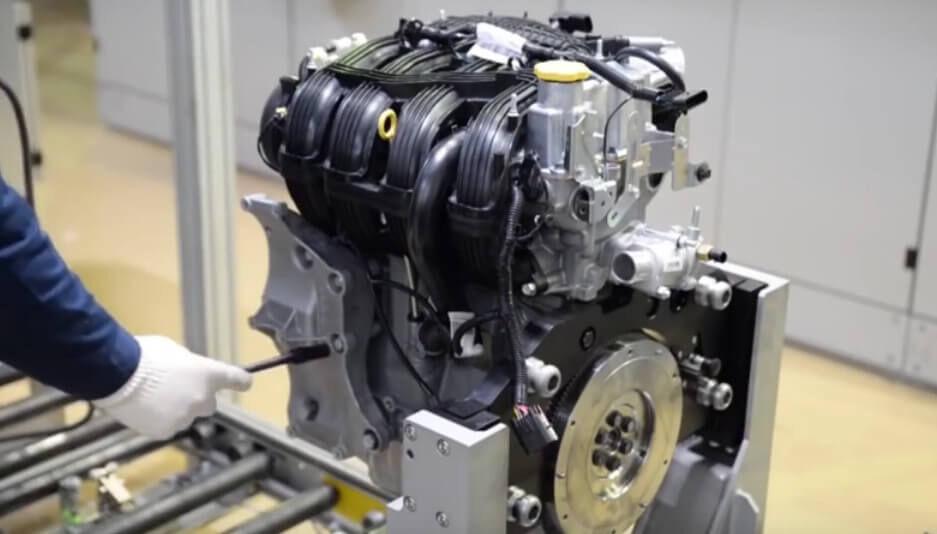 Технические характеристики двигателя ВАЗ - 21127  21129
