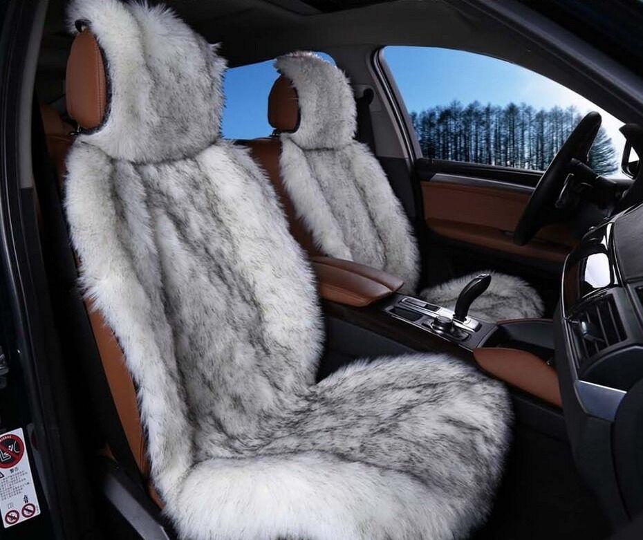 Меховые чехлы на сиденья, Меховые накидки на сиденья автомобиля цена ...