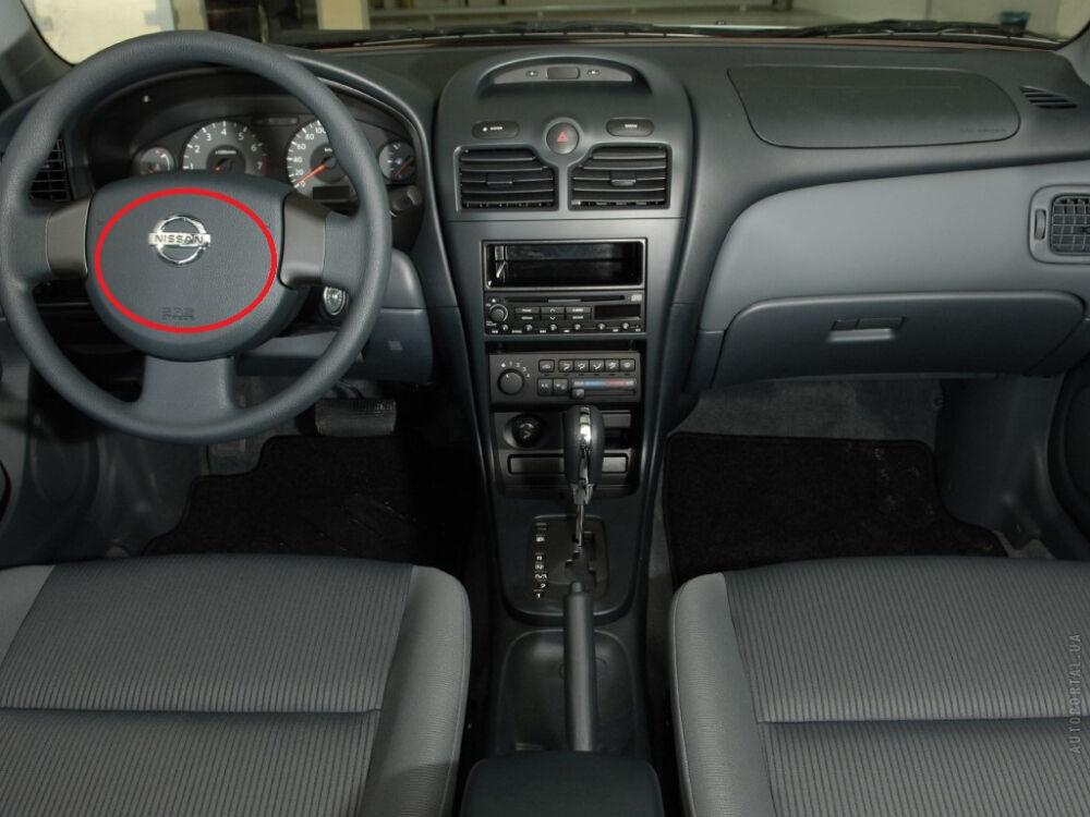 Расположение подушек безопасности на Nissan Almera Classic
