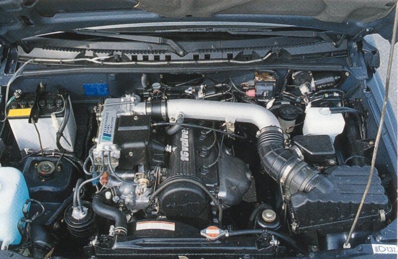 двигатель G16A