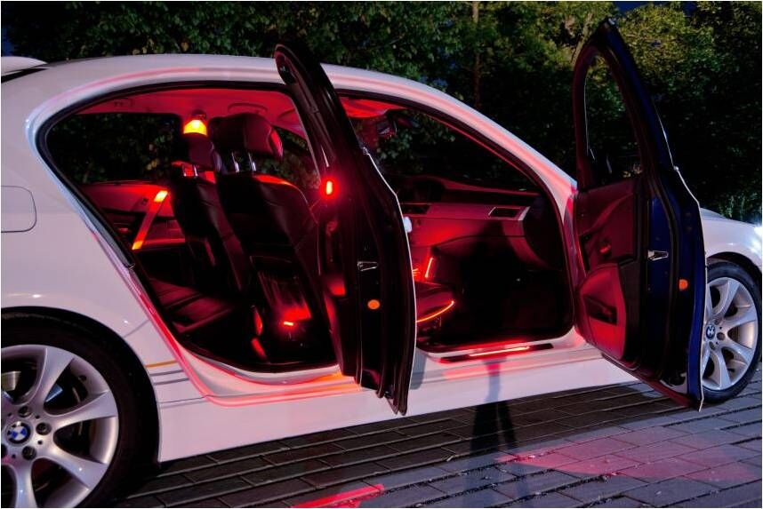 Аркона - Новинка: подсветка салона от Osram LEDambient®