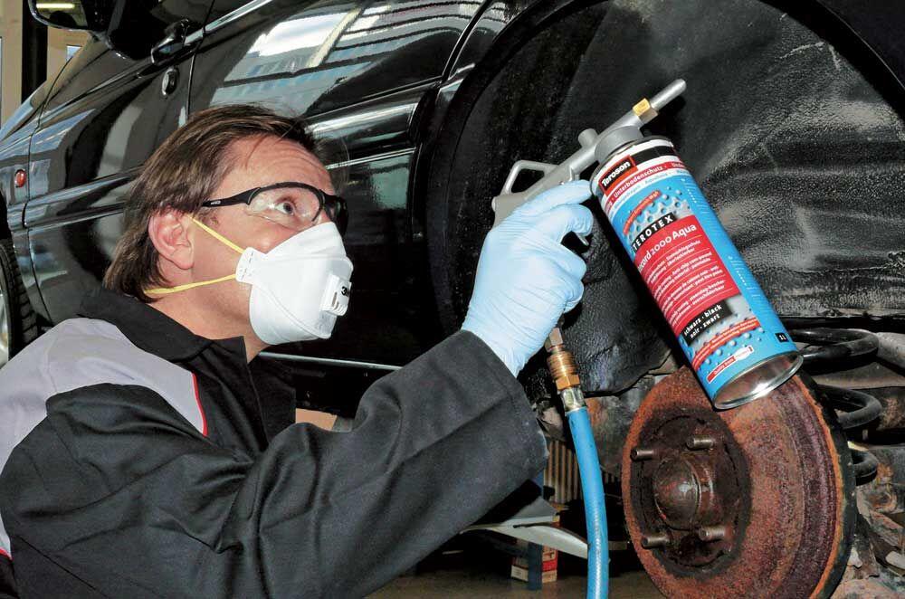 Обработка кузова автомобиля от коррозии