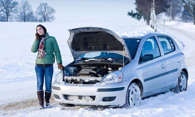 Автомобиль не заводится зимой. Причины