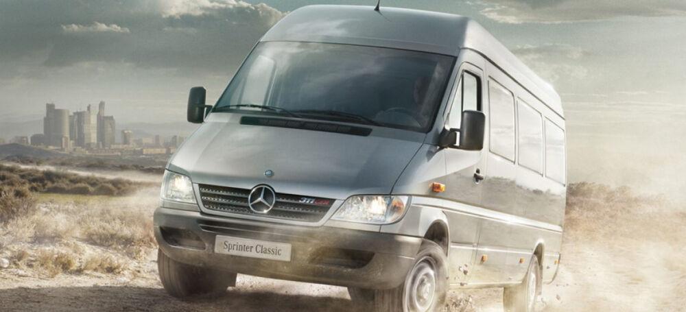 мерседес спринтер грузовой фургон технические характеристики