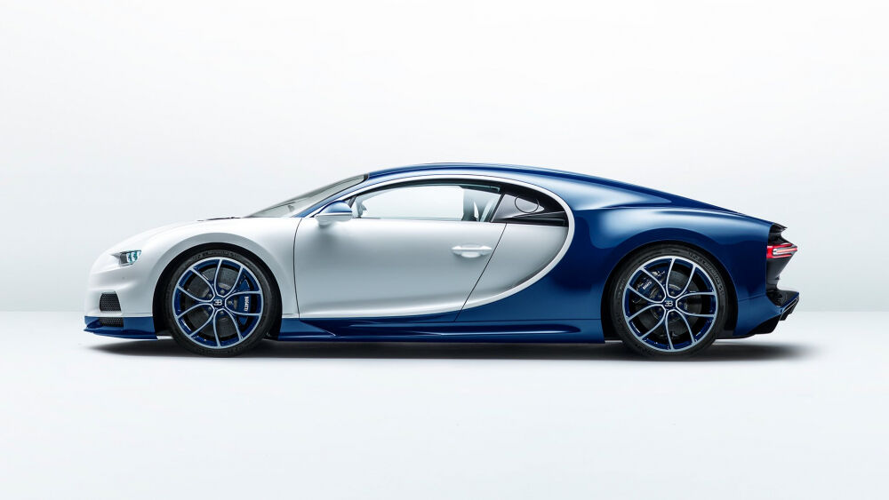Bugatti Chiron - the luxurious super sports car