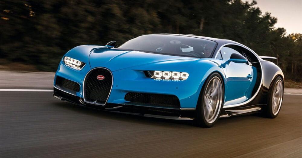 В Женеве представили серийный гиперкар Bugatti Chiron (Видео ...