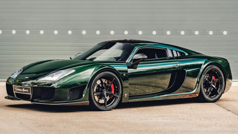 Hands up who remembers the mad, 225mph Noble M600?   Top Gear