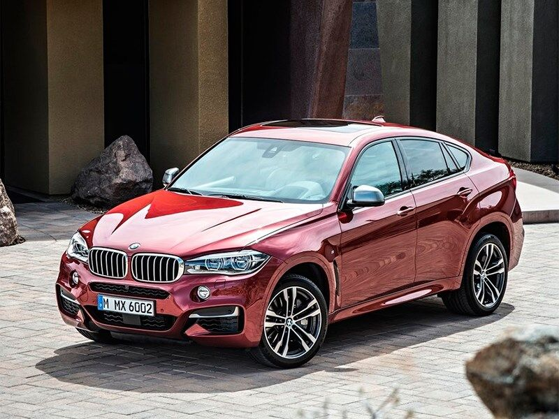 BMW X6 - обзор, цены, видео, технические характеристики БМВ Х6