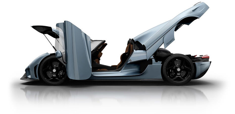Koenigsegg Regera Looks to Reign Supreme with 1,500 HP [Geneva ...