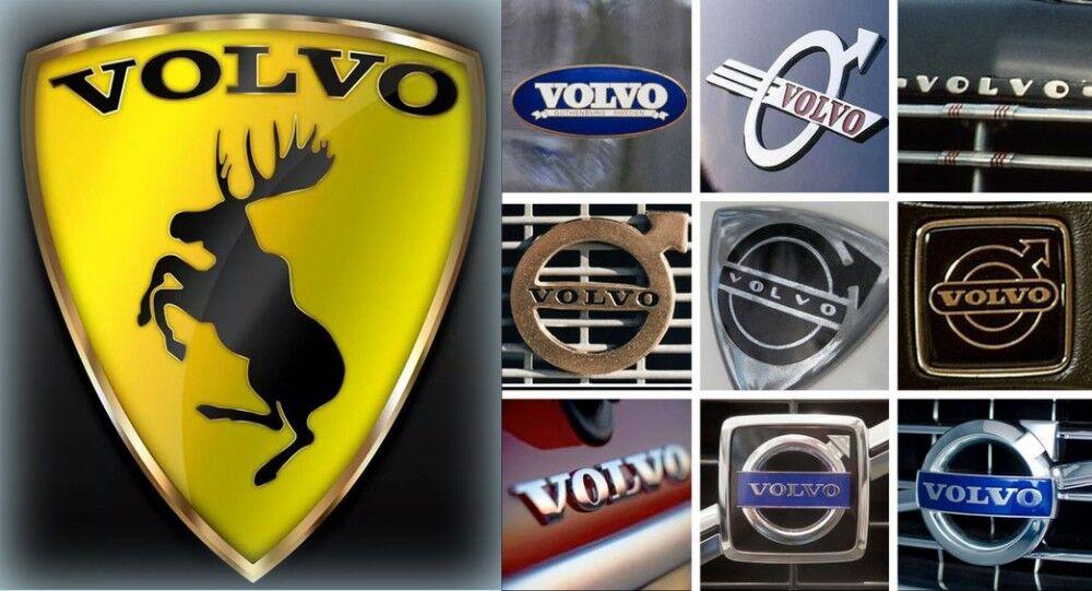 логотипы volvo