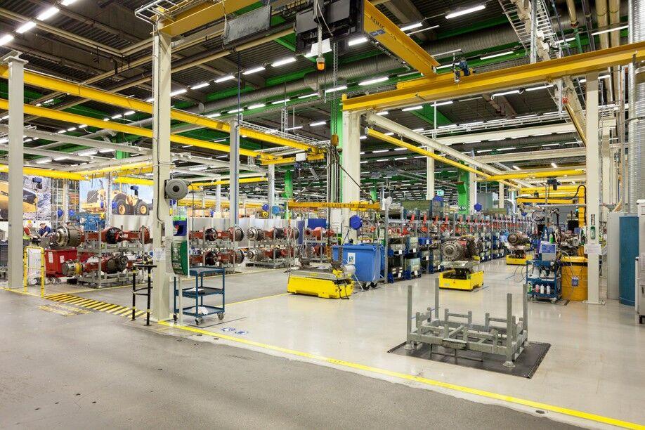 завод в Гетеборге