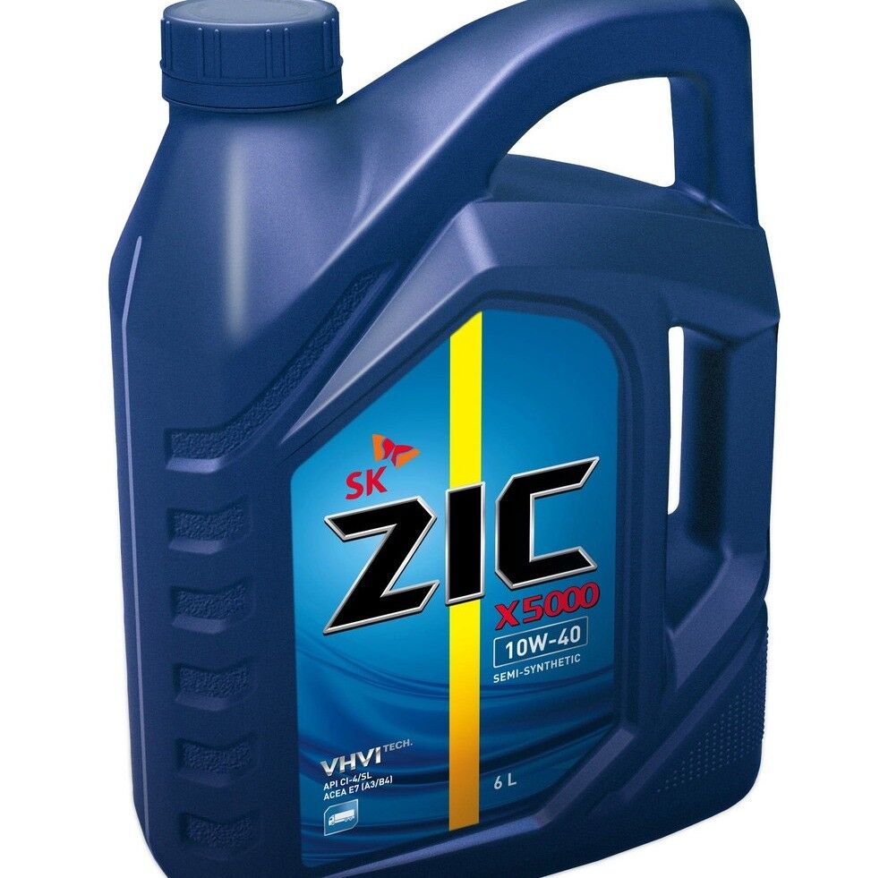 Моторное масло ZIC X5000
