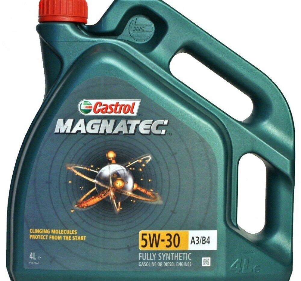 Моторное масло Castrol MAGNATEC