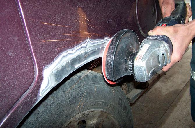 Механический метод удаления ржавчины