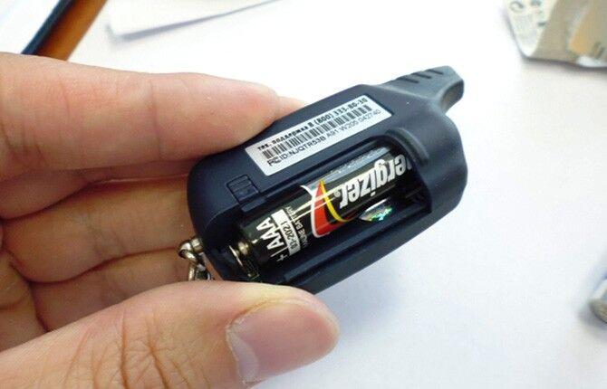 Замена батарейки на брелоке сигнализации