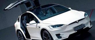 Tesla Model X обзор