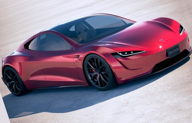 Экстерьер Tesla Roadster