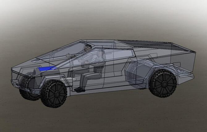 Электрокар Tesla Cybertruck - обзор удивительной машины