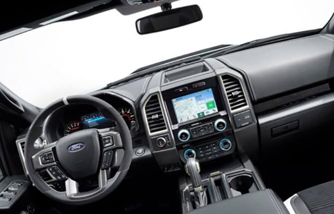 Салон Ford F-150 V поколения