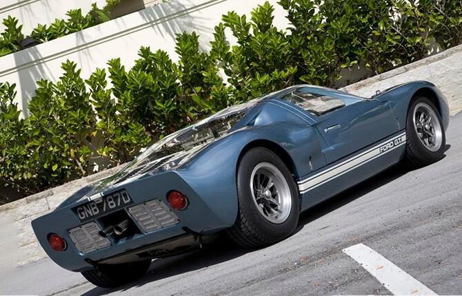 Ford GT-40 внешний вид