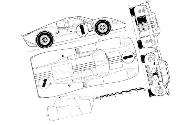 Ford GT-40 технические характеристики
